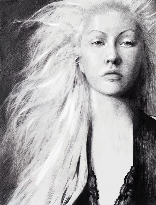 Christina Aguilera by aci4